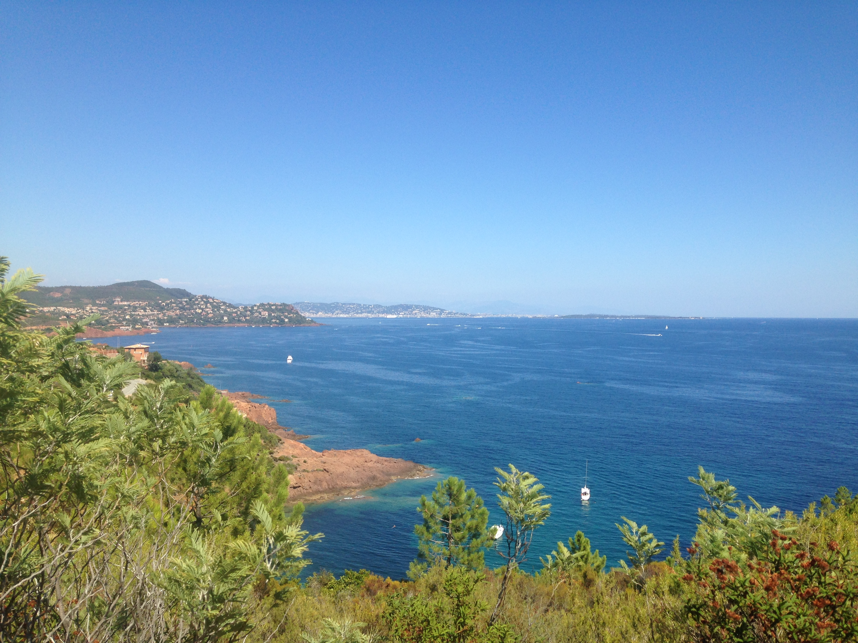 The Coastline From St Tropez To Antibes